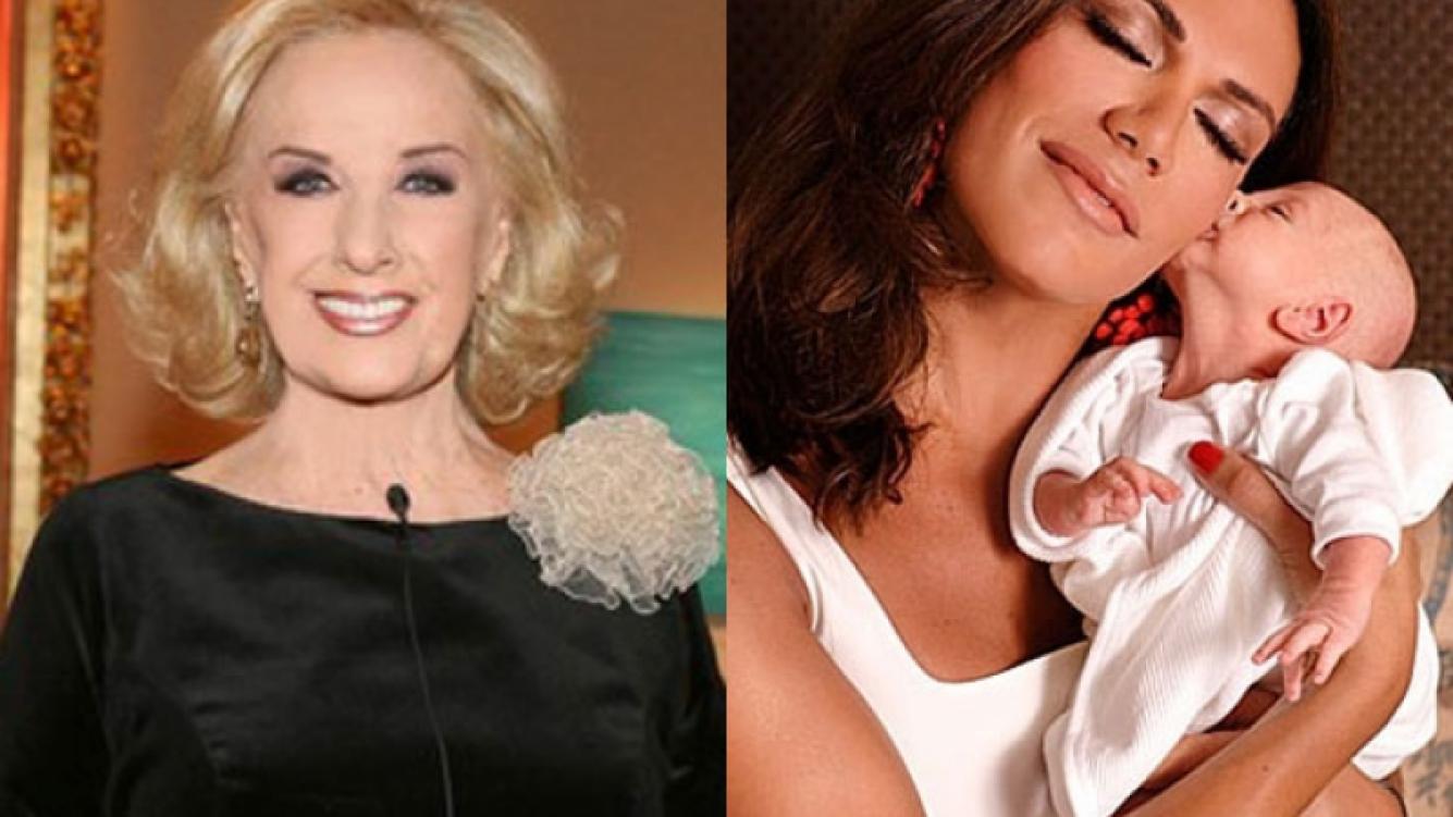 Mirtha Legrand opinó sobre la maternidad de Flor de la V (Foto: Web).