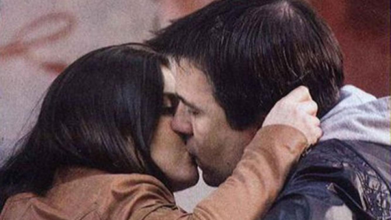 Gastón Recondo, enamorado y a los besos con su nueva pareja. (Foto: Pronto)