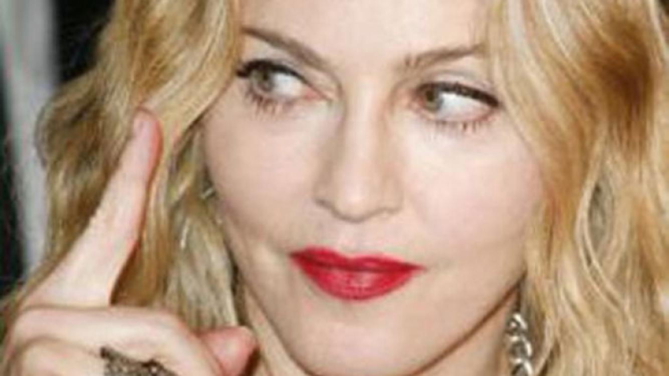 Madonna, enojada. (Foto: Web)