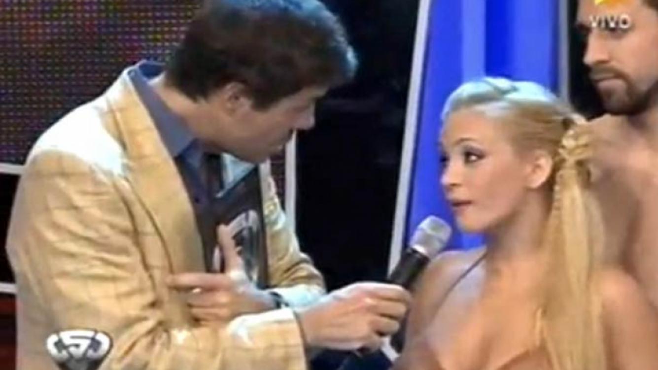 María Eugenia Ritó explicó por qué insultó a Marcelo Tinelli. (Captura: El Trece)
