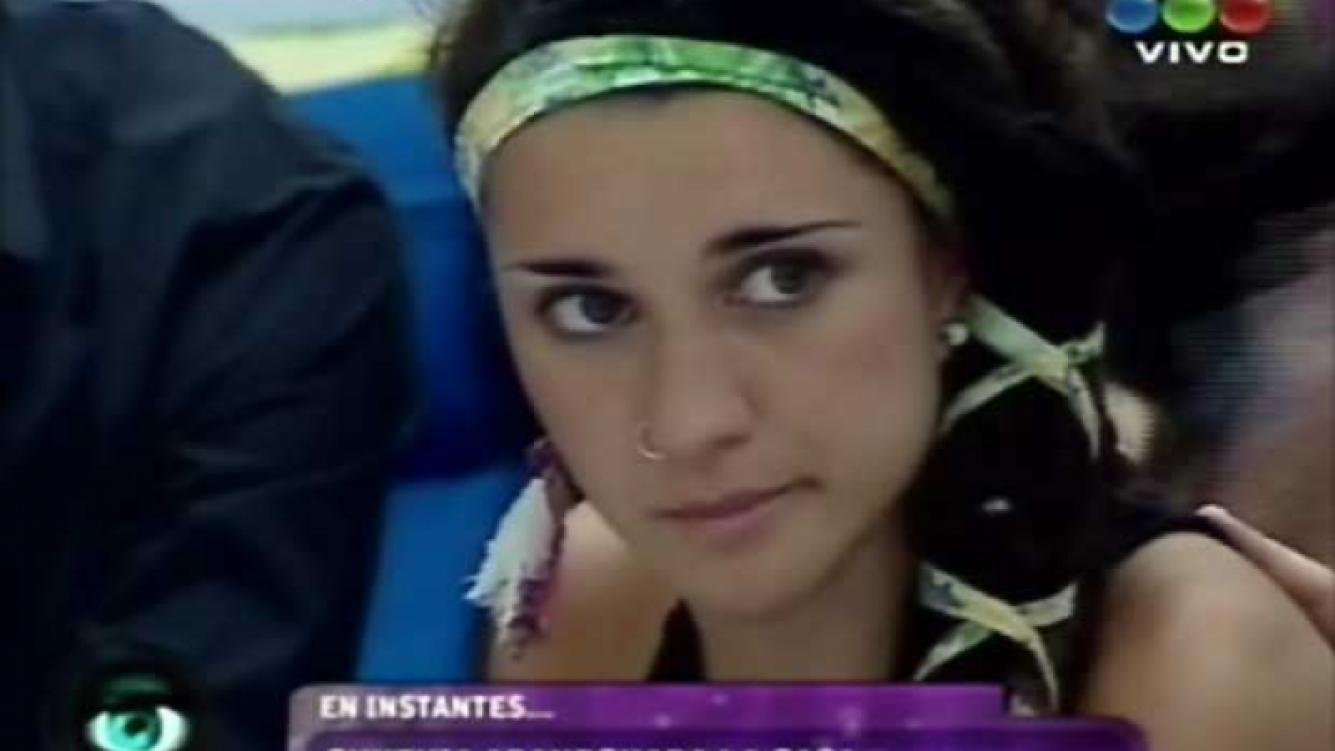 Cynthia Creado, segunda eliminada de Gran Hermano 2012. (Foto: captura TV)