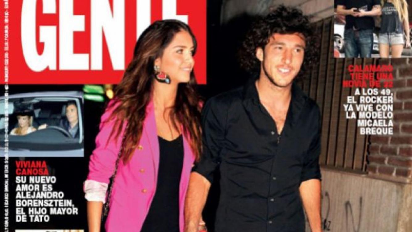 Zaira Nara y Pico Mónaco: la tapa que confirma el romance. (Foto: Gente)