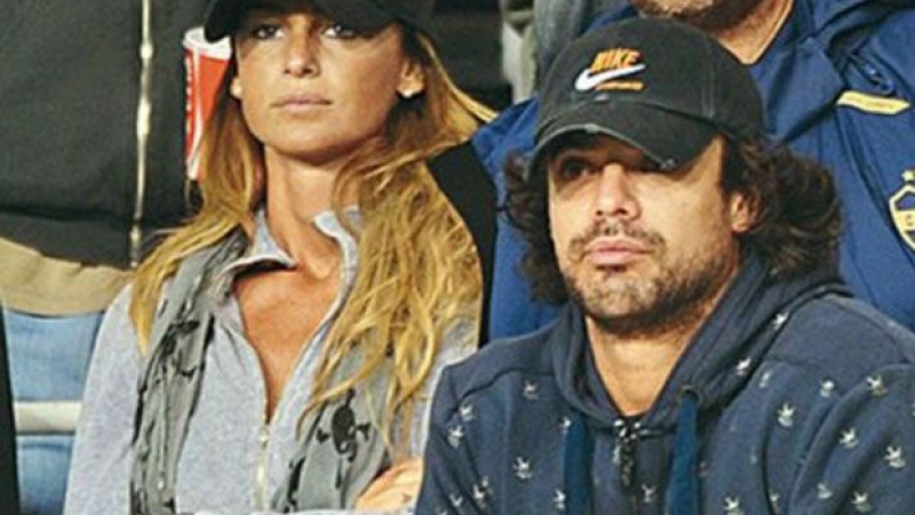 Sabrina Rojas y Luciano Castro, en tiempos felices (¡pese a sus caras!). (Foto: Web)