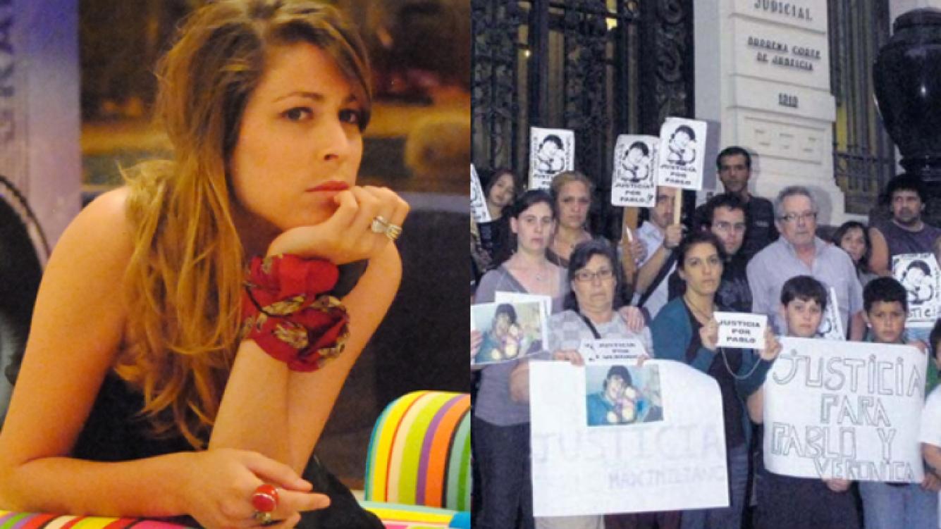 Marcha y pedido de Justicia en Uruguay contra Florencia de Gran Hermano. (Foto: elpais.uy)