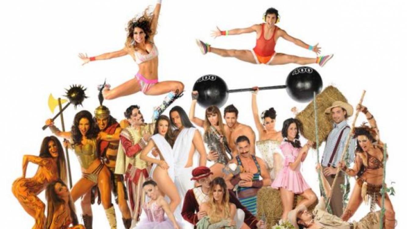La foto oficial de las diez parejas finalistas de Bailando 2011. (Foto: Ideas del Sur)