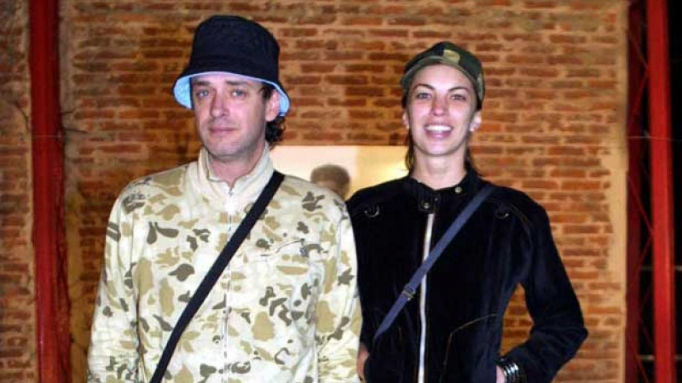 Gustavo Cerati y Déborah de Corral, cuando eran pareja. (Foto: Web)
