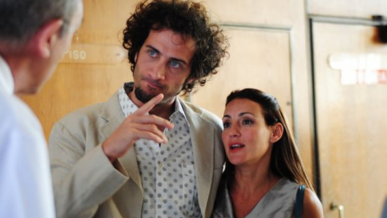 Luciano Cáceres y Eleonora Wexler. (Foto: El Trece)