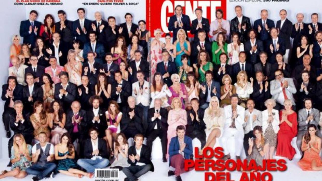 Los personajes del año de la revista Gente. (Foto: Web.)