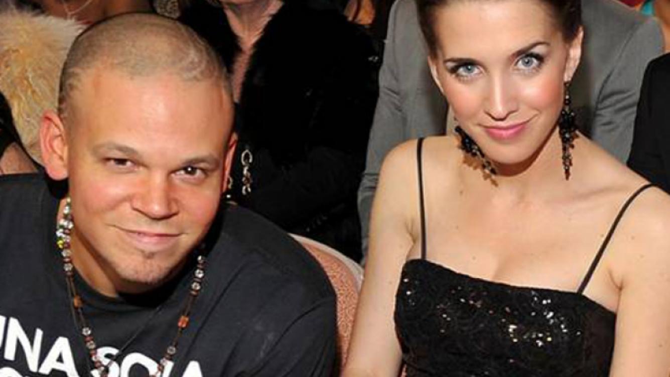 René Pérez y Soledad Fandiño, muy juntos.