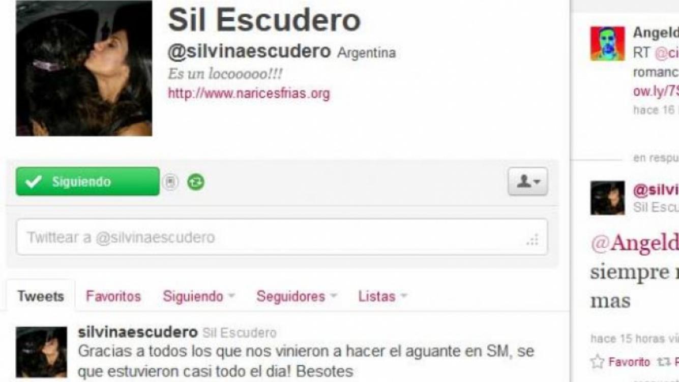 La sorprendente respuesta de Silvina Escudero sobre el romance de Matías Alé y Coki Ramírez. (Foto. Twitter Angel de Brito)