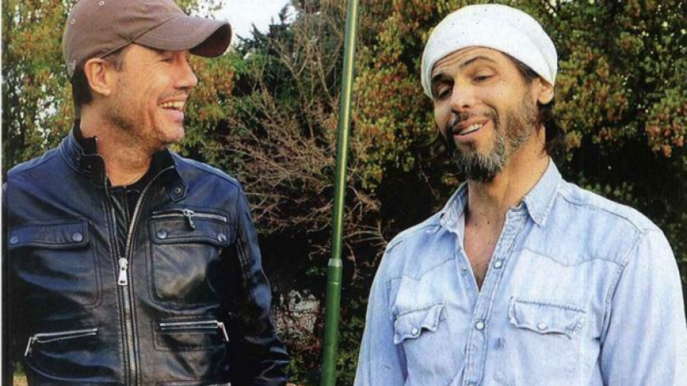 Marcelo Tinelli y Federico Ribero. (Foto: Web)