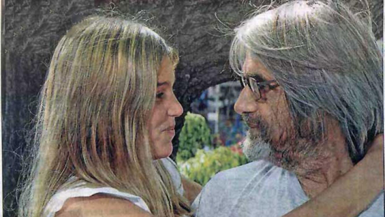 Sonia Hippener y Juan José Camero, flamantes esposos. (Foto: Libre)