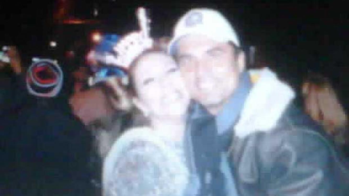 Mónica Ayos y Diego Olivera en Nueva York. (Foto: @lulipop07)