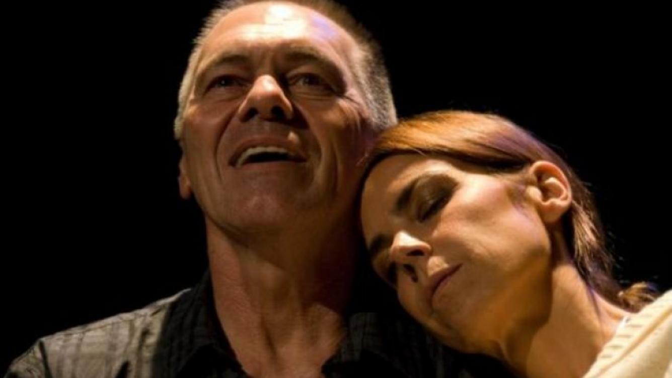 Miguel Angel Solá y Blanca Oteyza, separados. (Foto: Web)