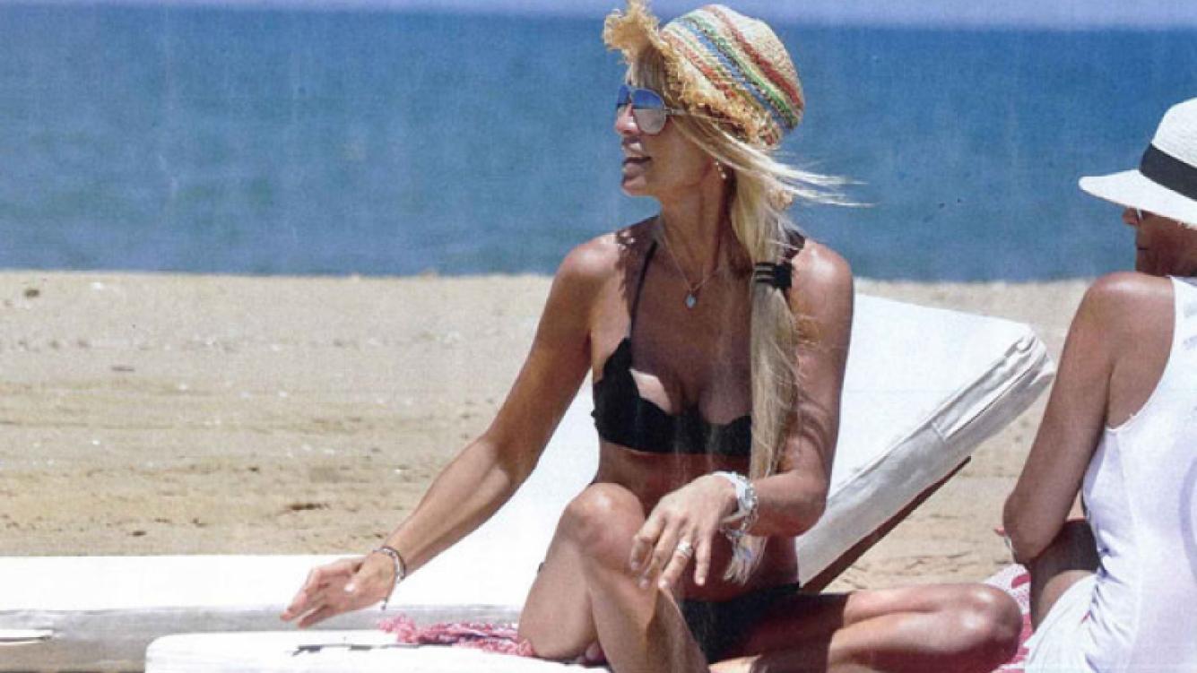 Cris Morena volvió a sonreír en Punta del Este (Foto: Gente).