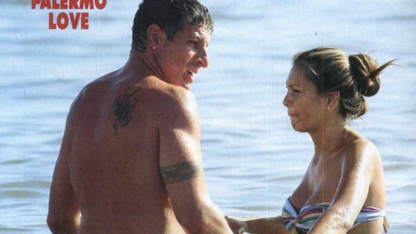 Las vacaciones de Martín Palermo y su novia en Punta: ¿En la búsqueda de un hijo? (Foto: revista Pronto)