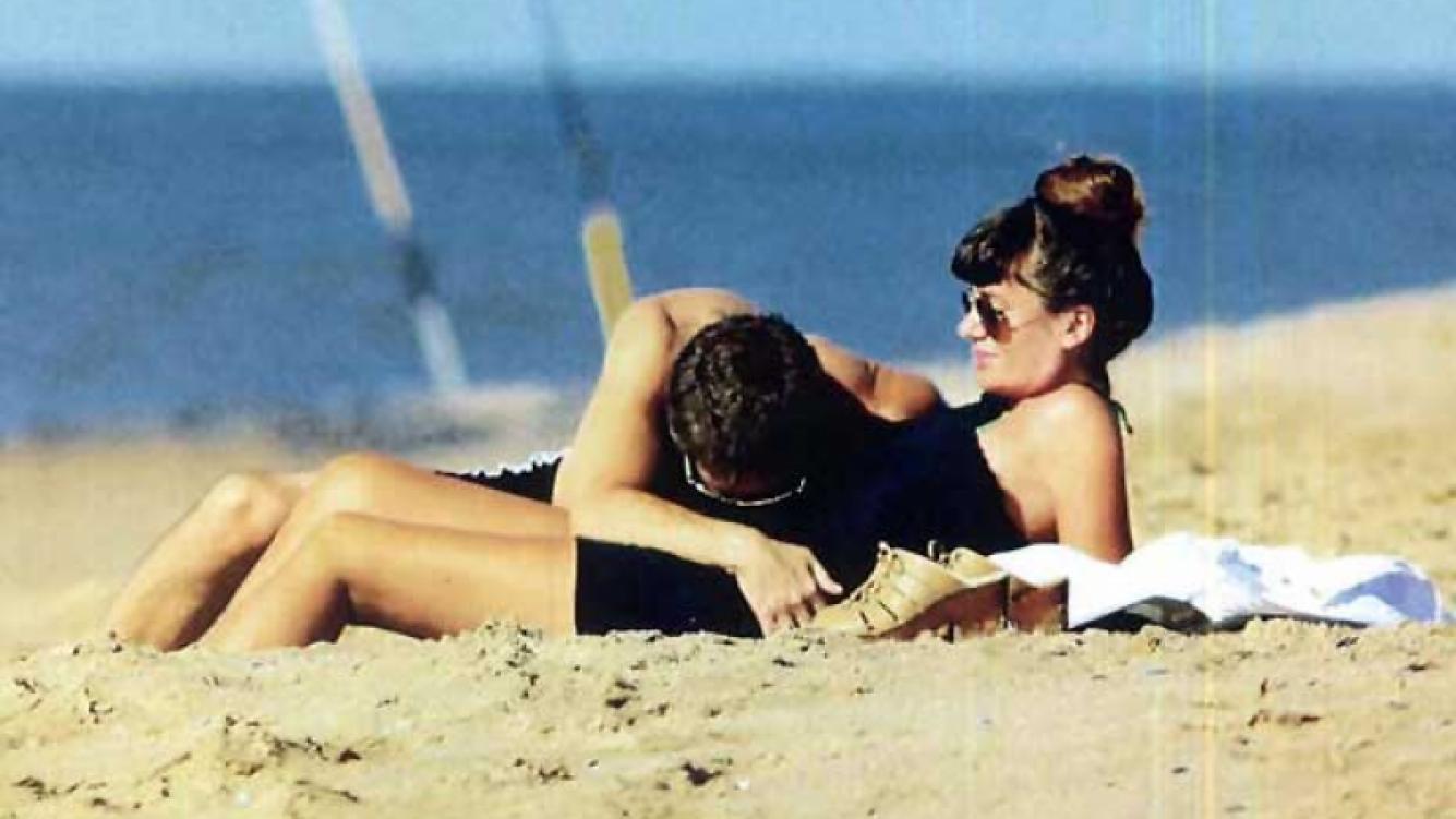 Adrián Suar y Griselda Siciliani, enamorados esperan el nacimiento de Margarita. (Foto: ¡Hola!)