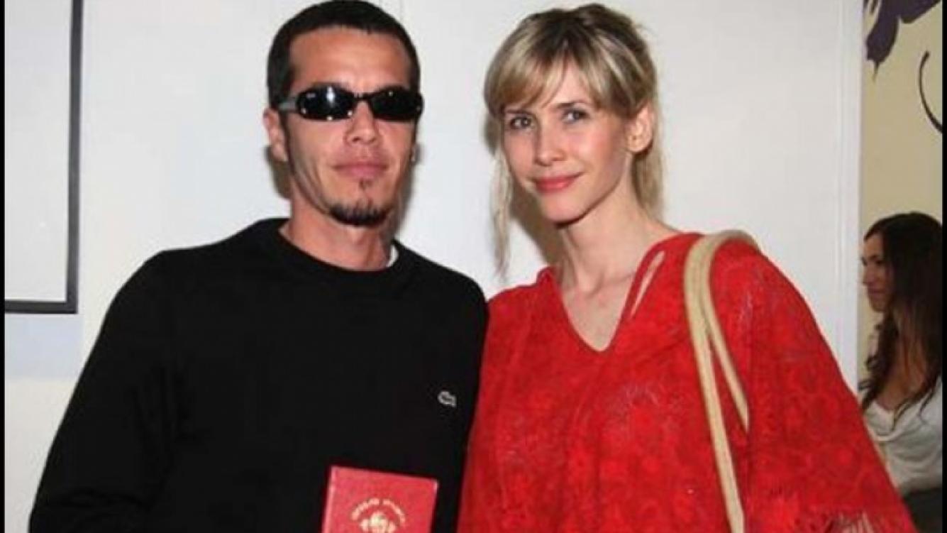 Sebastián Ortega y Guillermina, en su casamiento, dos años atrás. (Foto: Web)