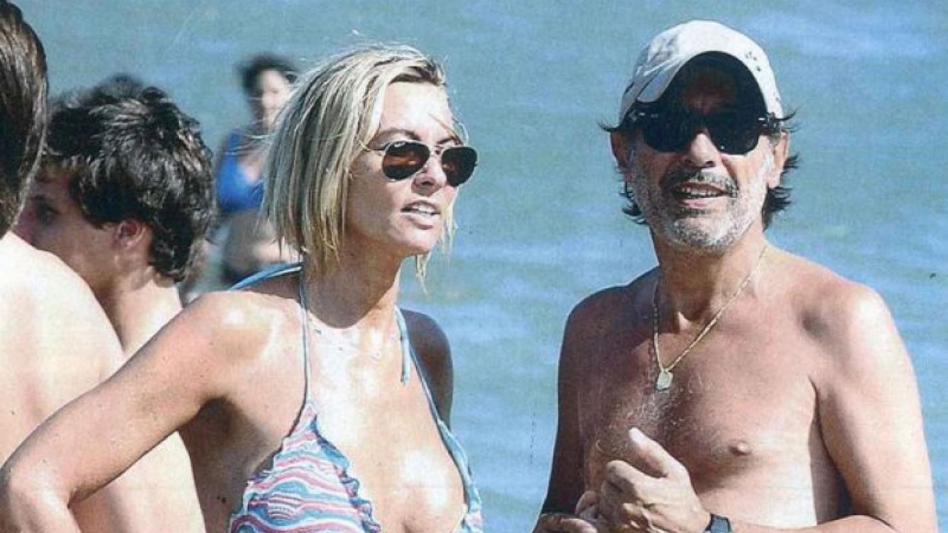 Guillermo Francella y su mujer, Marynés Brañe. (Foto: revista Gente)