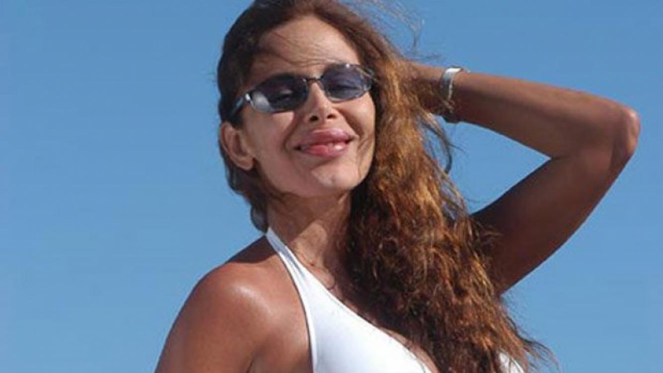 La bella Isabel Salomón está internada desde hace dos años. (Foto: Web)