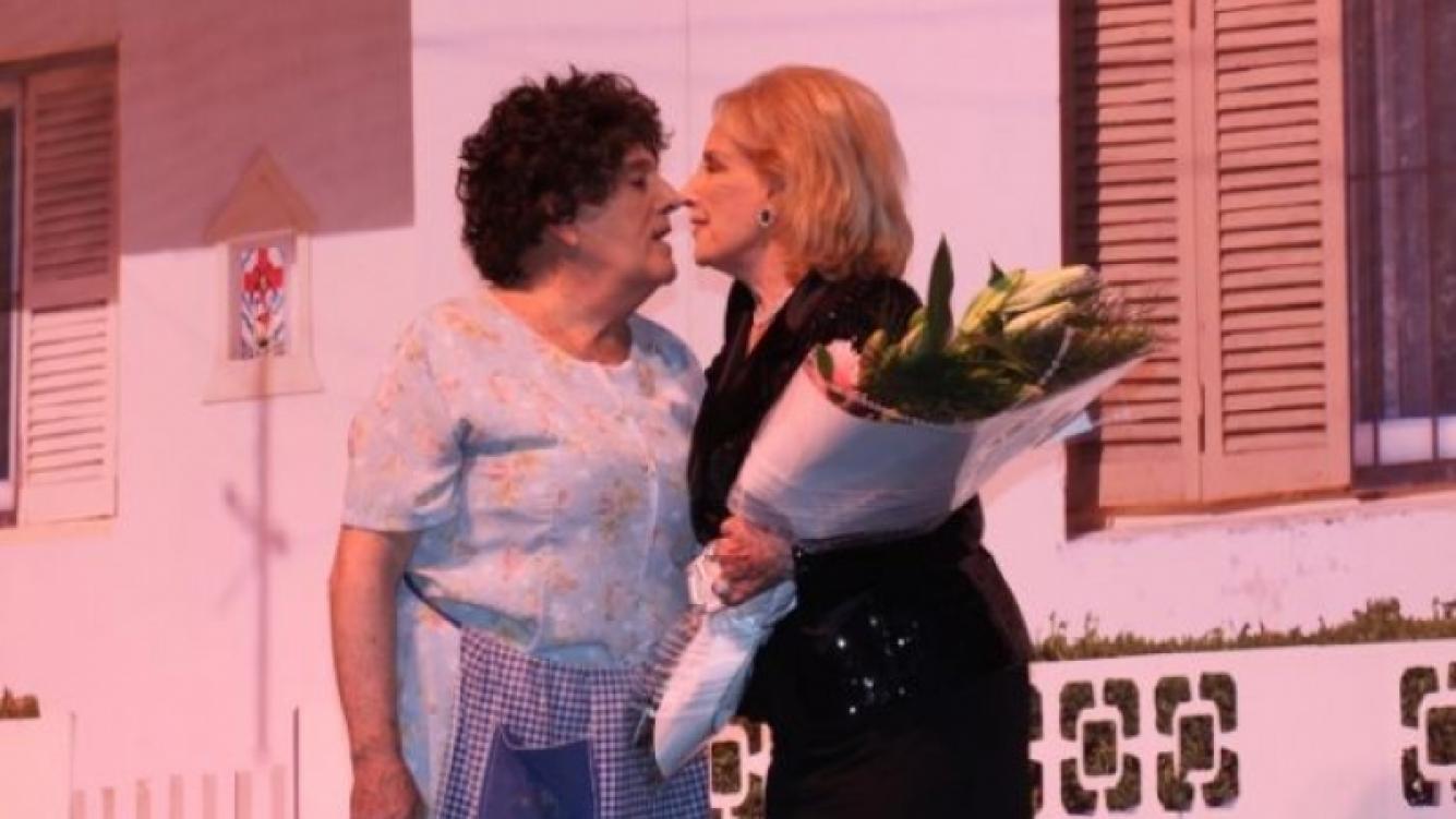 Mirtha Legrand fue a ver a Antonio Gasalla y subió al escenario. (Foto: Web)