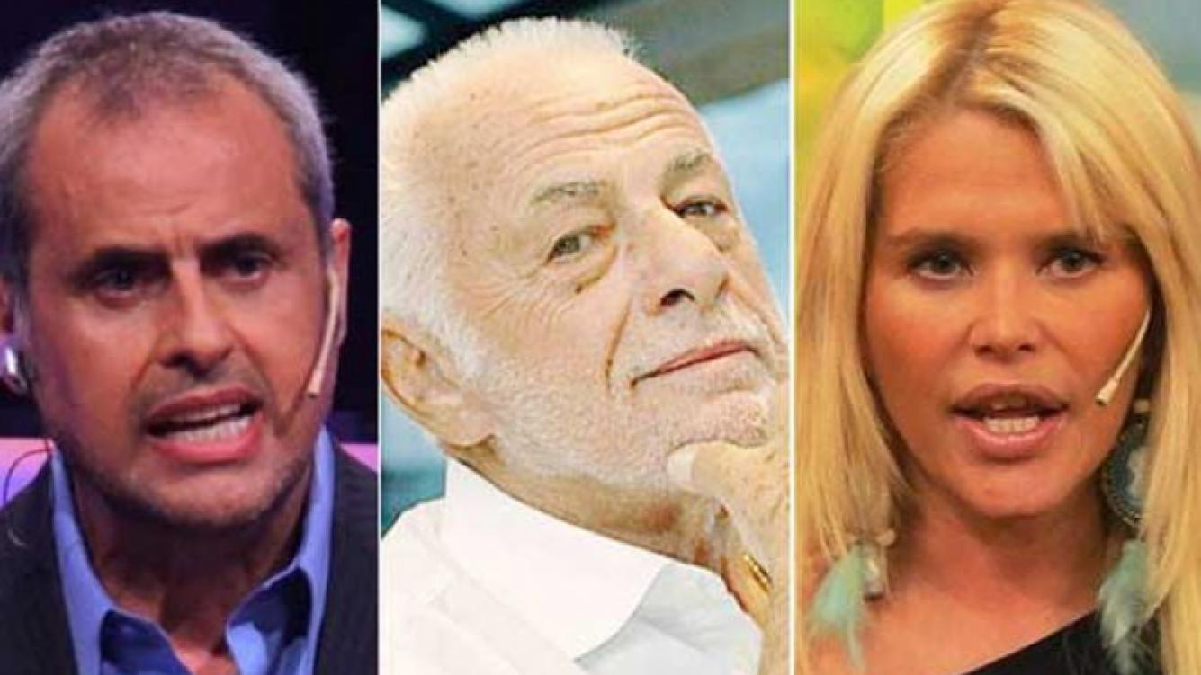 "Gerardo Sofovich le respondió a Jorge Rial y le ""pegó"" a Nazarena Vélez. (Foto: Web)"