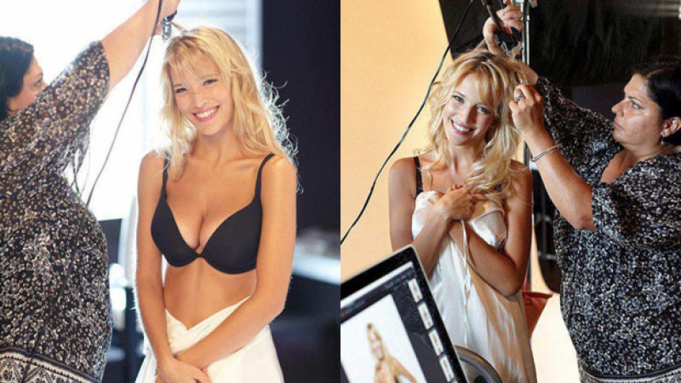 Luisana Lopilato, despampanante en la campaña de ropa interior (Foto: Web).