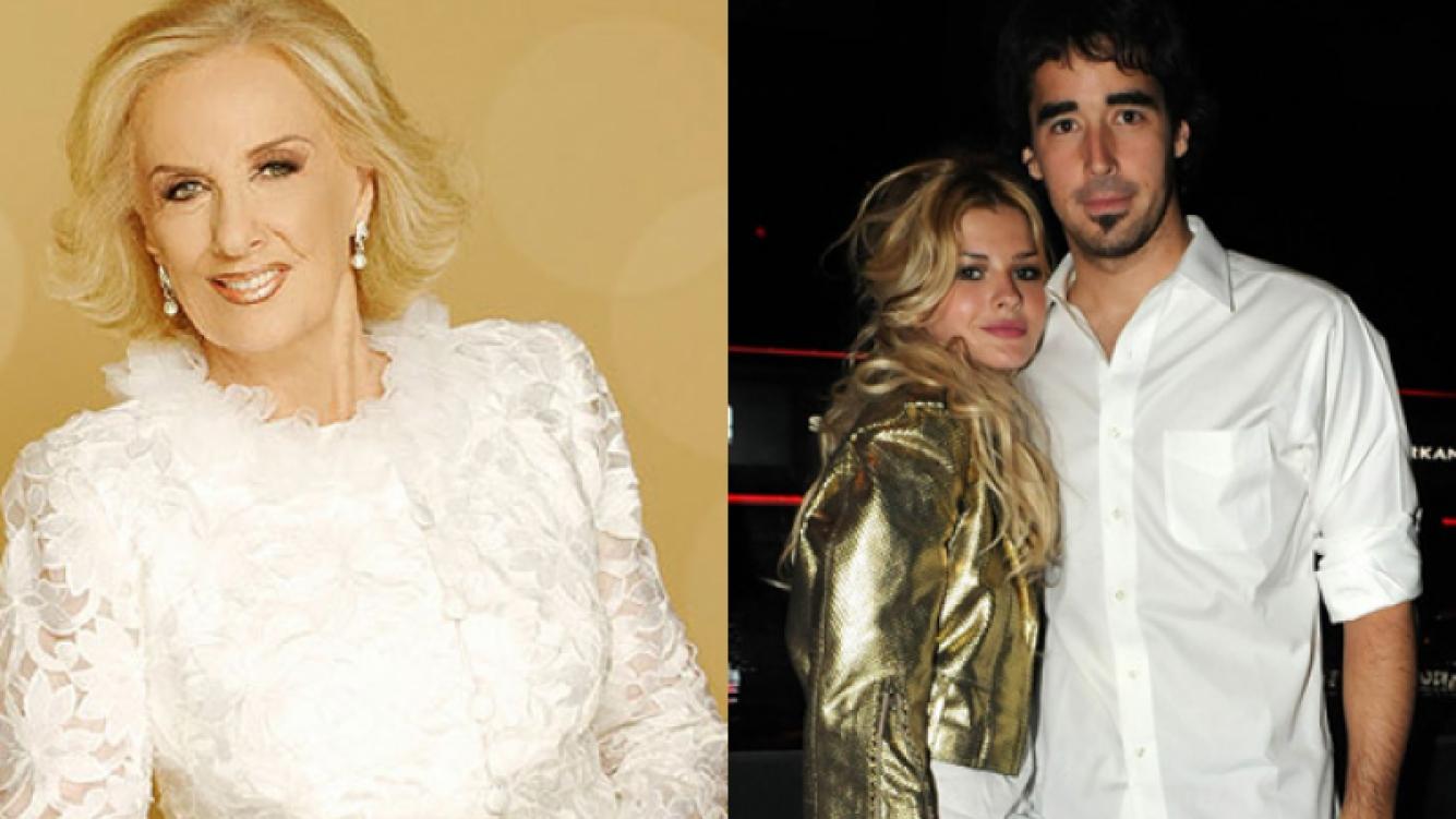 Mirtha Legrand habló de la separación de Nacho Viale y la China Suárez (Foto: Web).