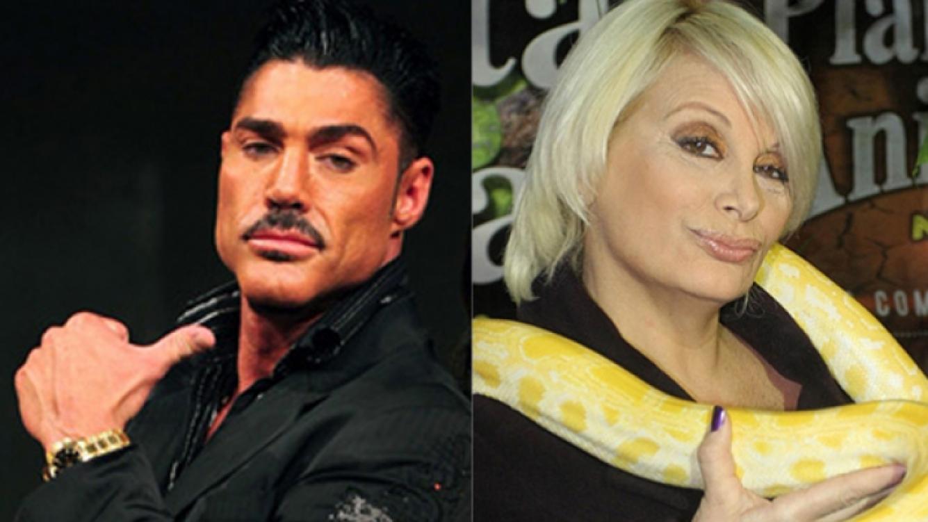Ricardo Fort y Carmen Barbieri, enfrentados por Bailando 2012 (Foto: Web).