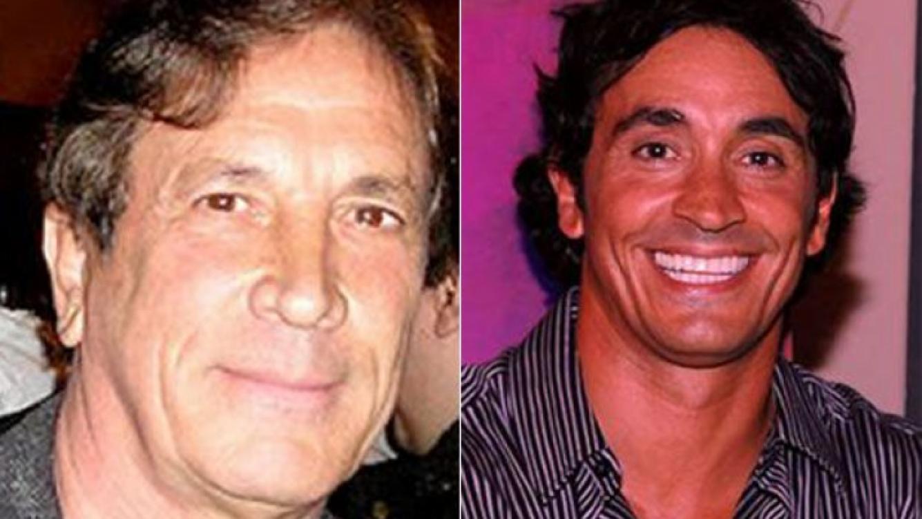 Quique Estevanez y su hijo Sebastián Estevanez. (Foto: Web)