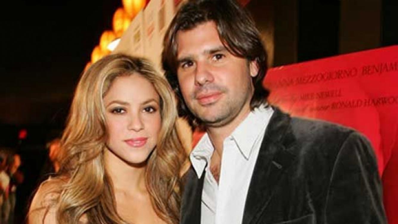 Shakira y Antonito, separados... pero no tanto.