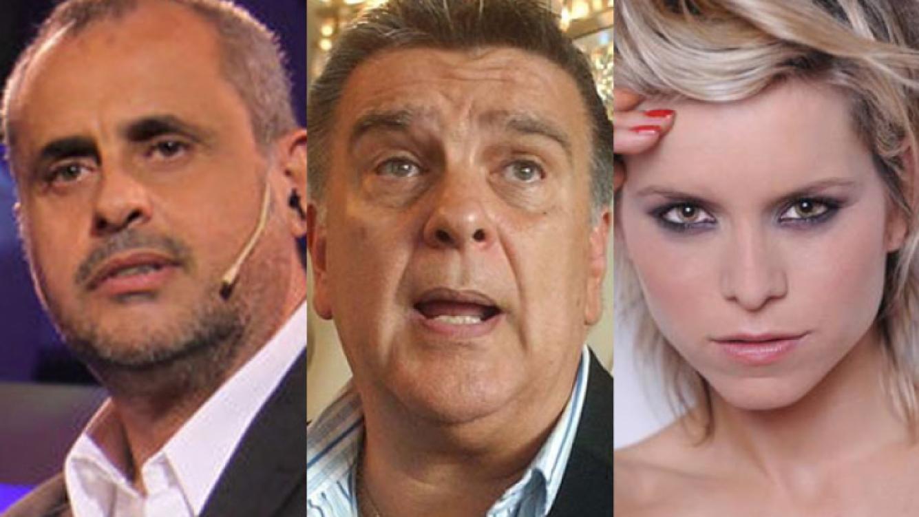 Jorge Rial y Luis Ventura fueron citados a declarar por las fotos de Jazmín De Grazia (Foto: Web).
