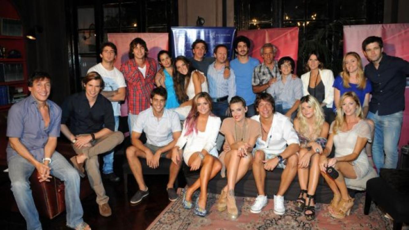 El elenco de la segunda temporada de Los Unicos. (Foto: El Trece)