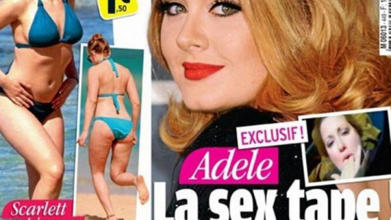 El escándalo hot de Adele. (Foto: Web)