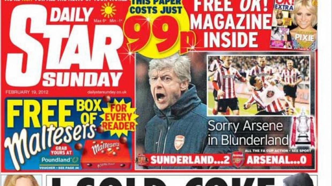 La portada del Daily Star, con el impactante testimonio.