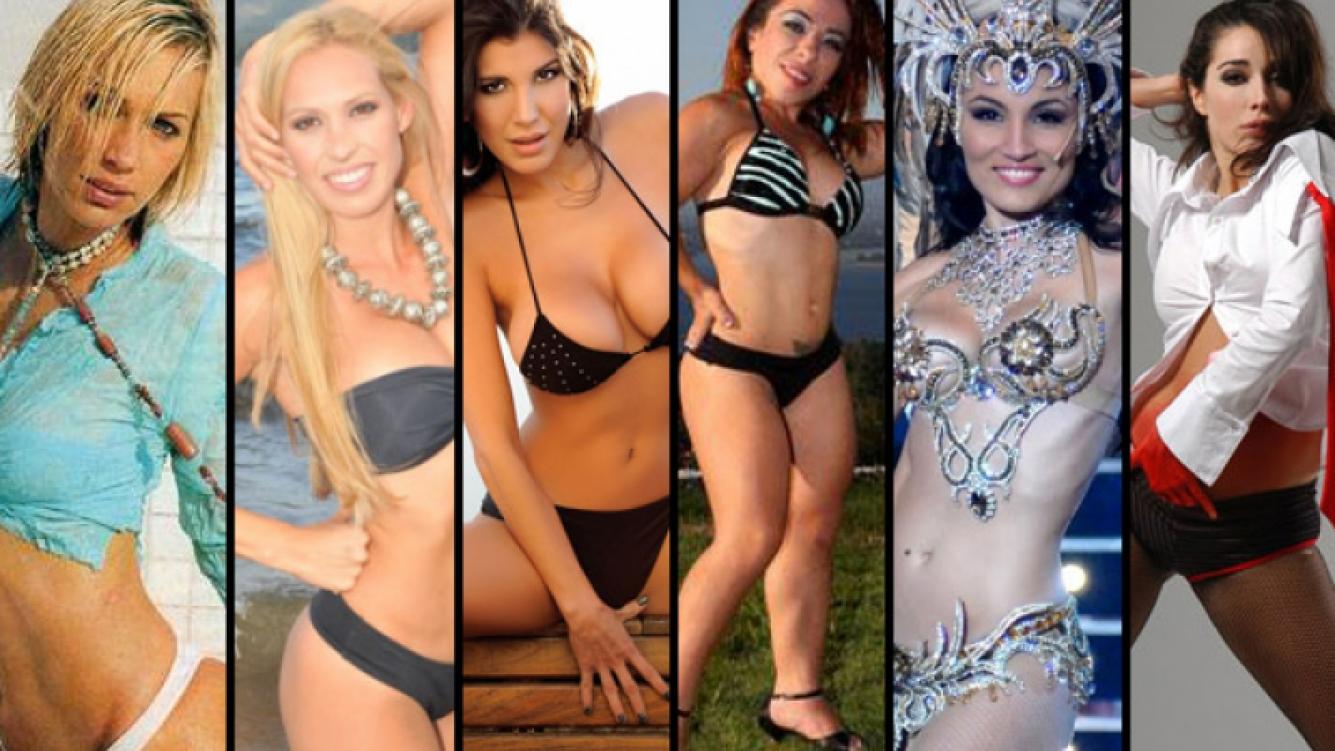 Ingrid Grudke, Estefanía Bacca, Andrea Rincón, Noelia Pompa, Mónica Listorti y Laura Fidalgo.
