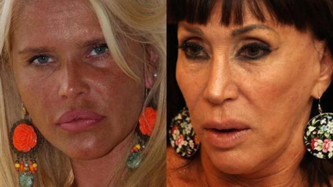 Nazarena Vélez amenazó con volarle los dientes a Moria Casán. (Foto: Web)