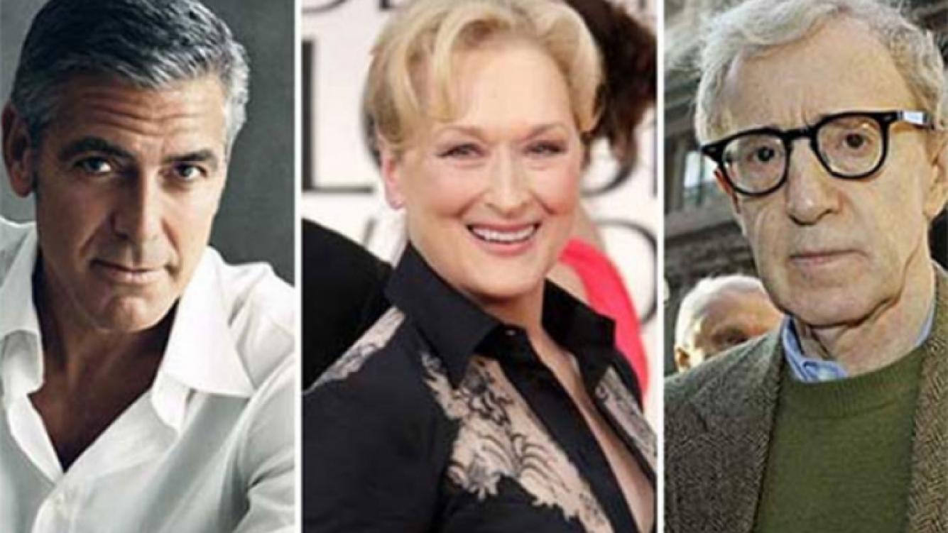 George Clooney, Meryl Streep y Woody Allen, candidatos a ganar en los Oscar 2012. (Fotos: Web)