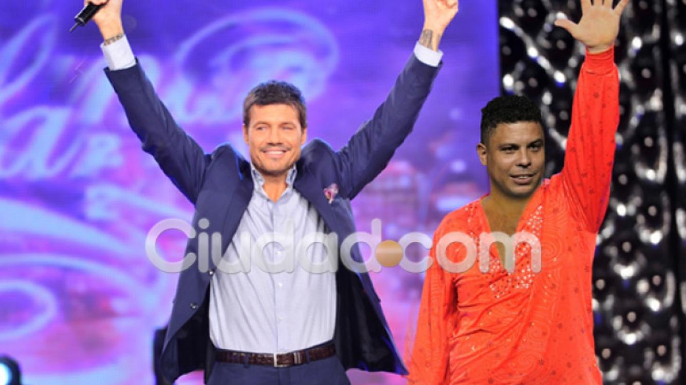 ¿Marcelo Tinelli tendrá a Ronaldo en la pista de Bailando 2012? (Fotomontaje: Darío Pulli)