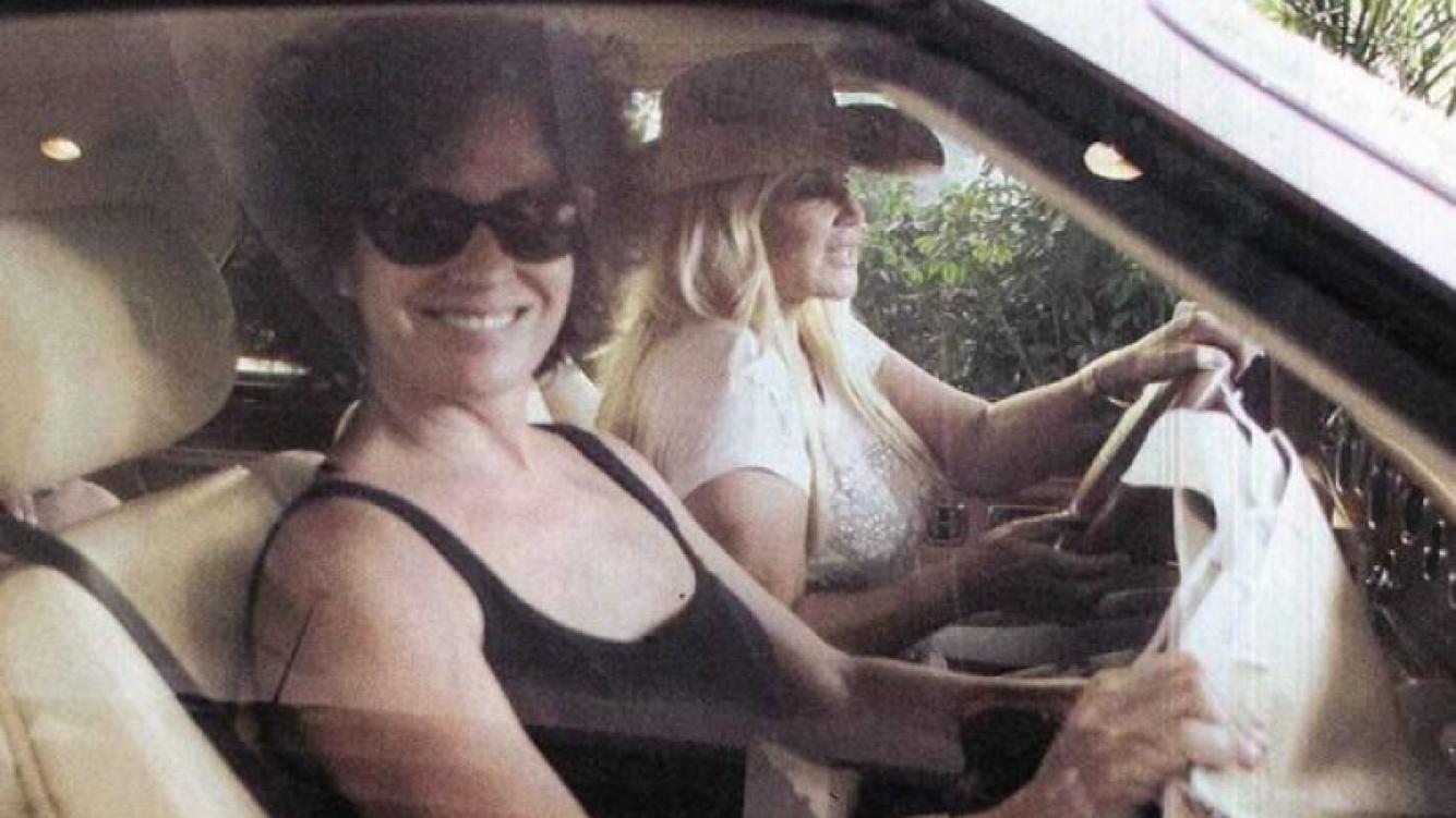 Susana Giménez y la mujer de Ricardo Darín en Miami. (Foto: Revista Pronto)