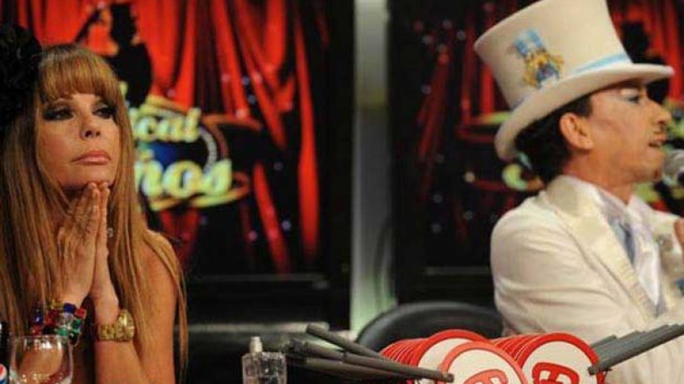 Graciela Alfano y Aníbal Pachano cuando compartían el jurado de ShowMatch. (Foto: Ideas del Sur)