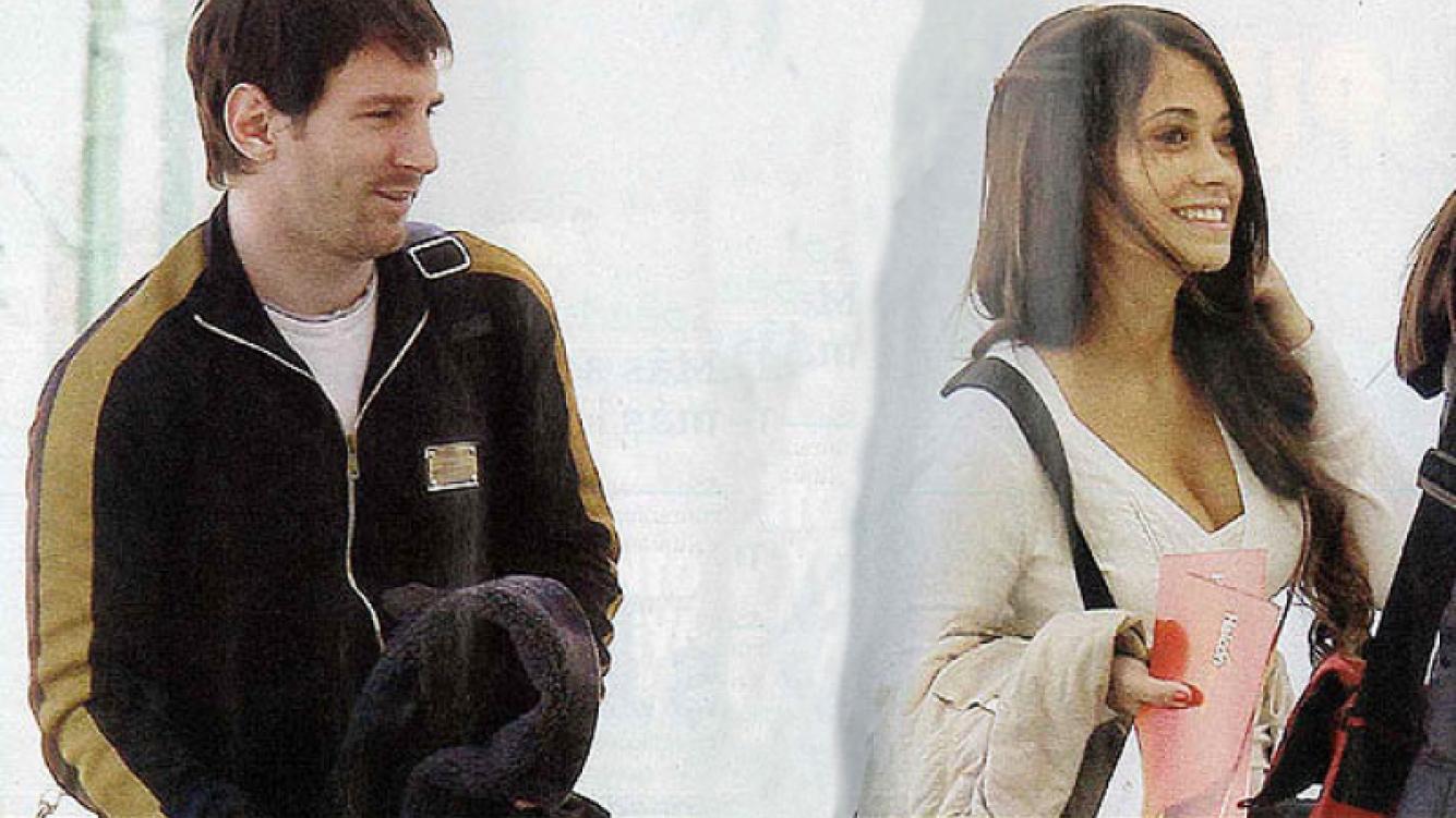 El romántico viaje de Lionel Messi y su novia. (Foto: revista Pronto)