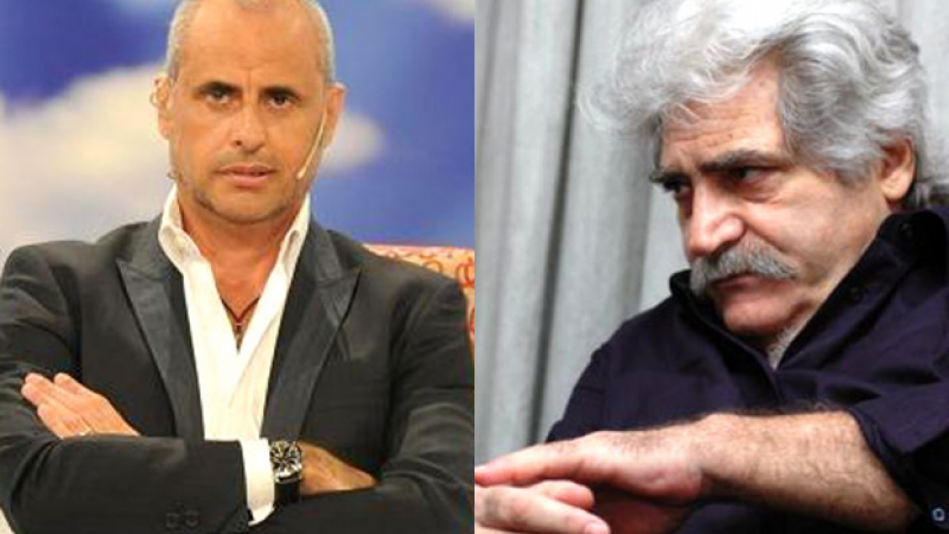 Jorge Rial y Jorge Asís, escandalosa pelea en Twitter. (Fotos: Web)