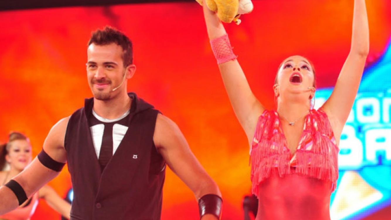 Agustín perdió en el voto telefónico con Julieta Ponce, y quedó eliminado de Soñando por bailar 2. (Foto: Ideas del Sur)