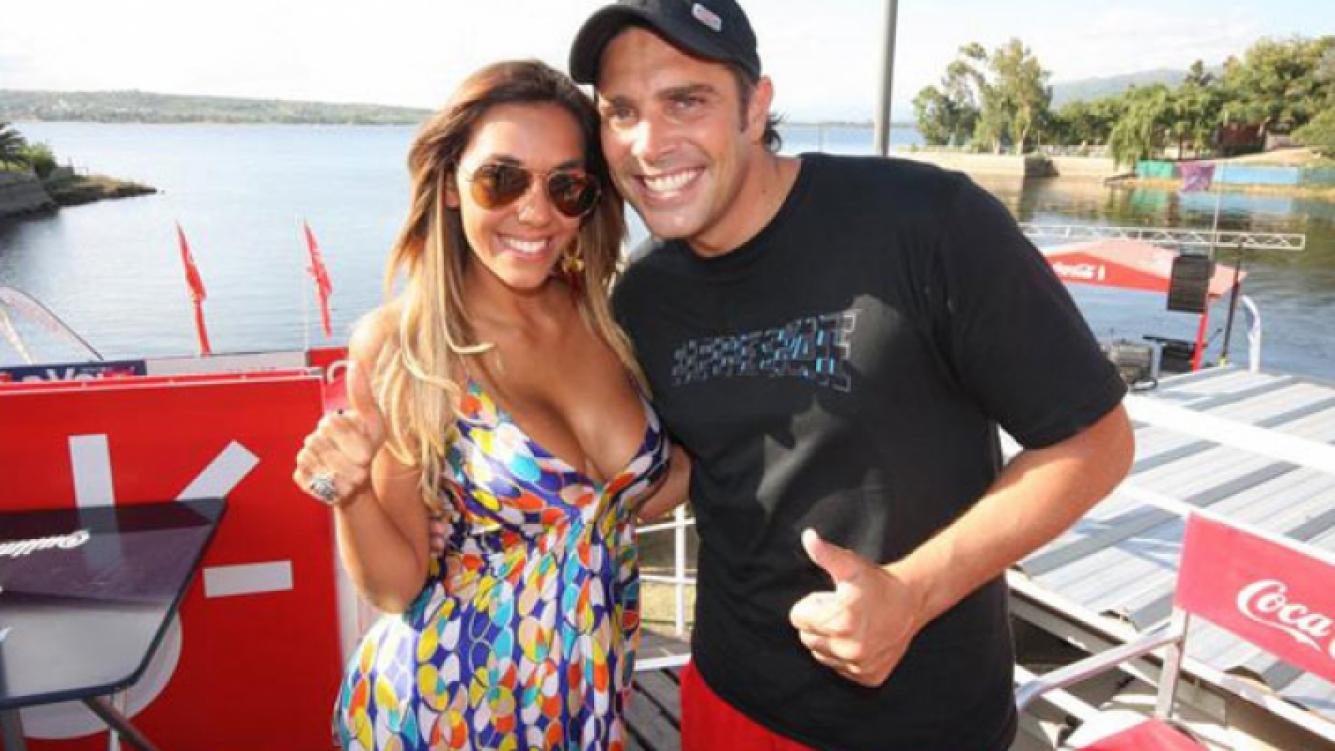 Matías Alé y Floppy Tesouro, juntos en Miami. (Foto: Web)