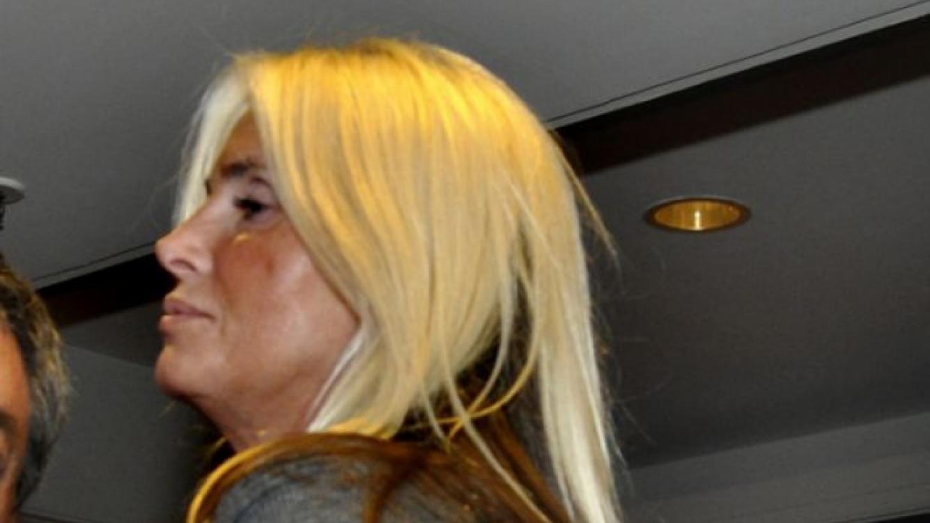 Mercedes Sarrabayrouse acompañó a su mamá en la conferencia (Foto: Jennifer Rubio).