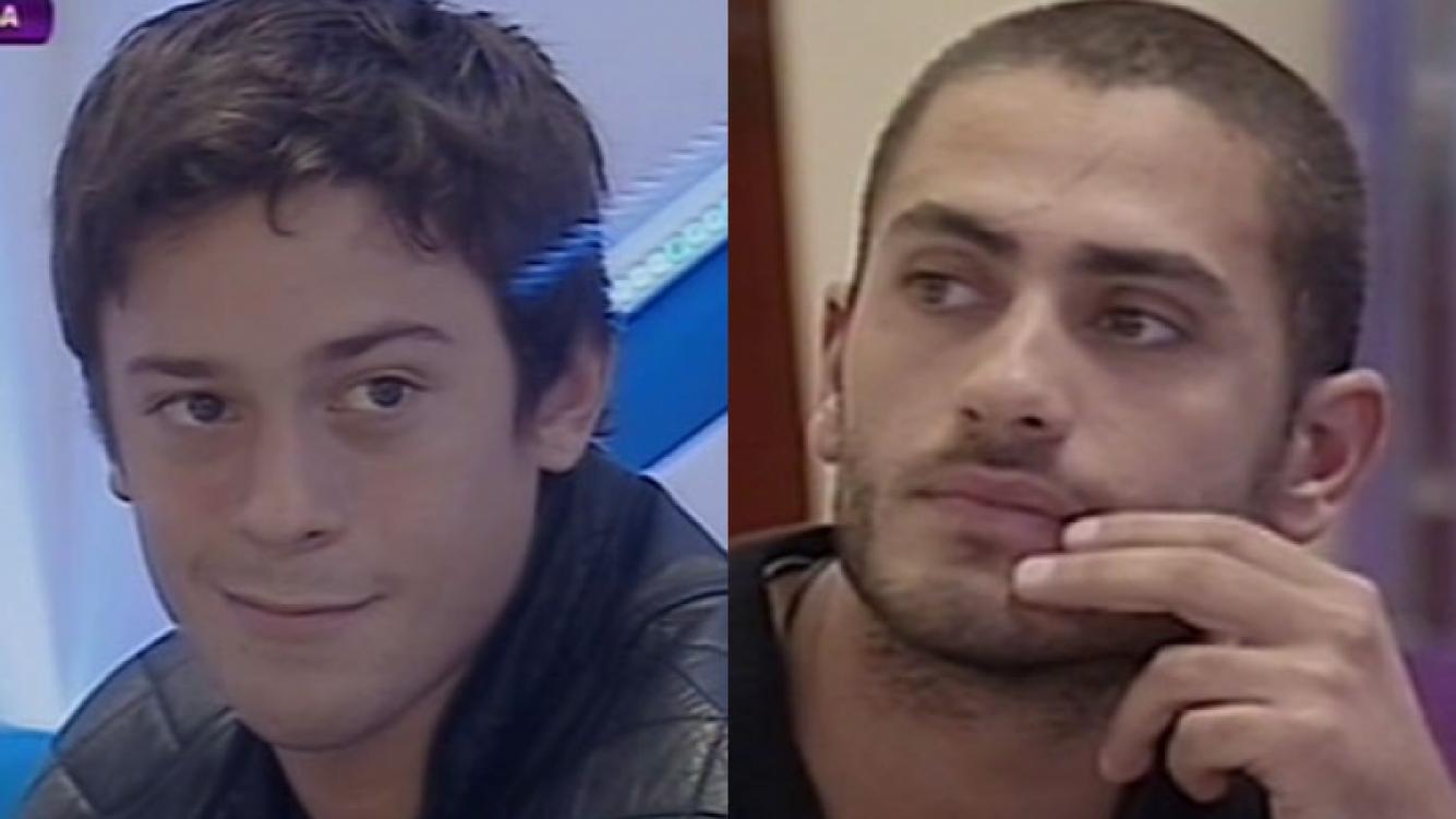 Nazareno y Mario, los últimos nominados de Gran Hermano 2012 (Foto: Captura).