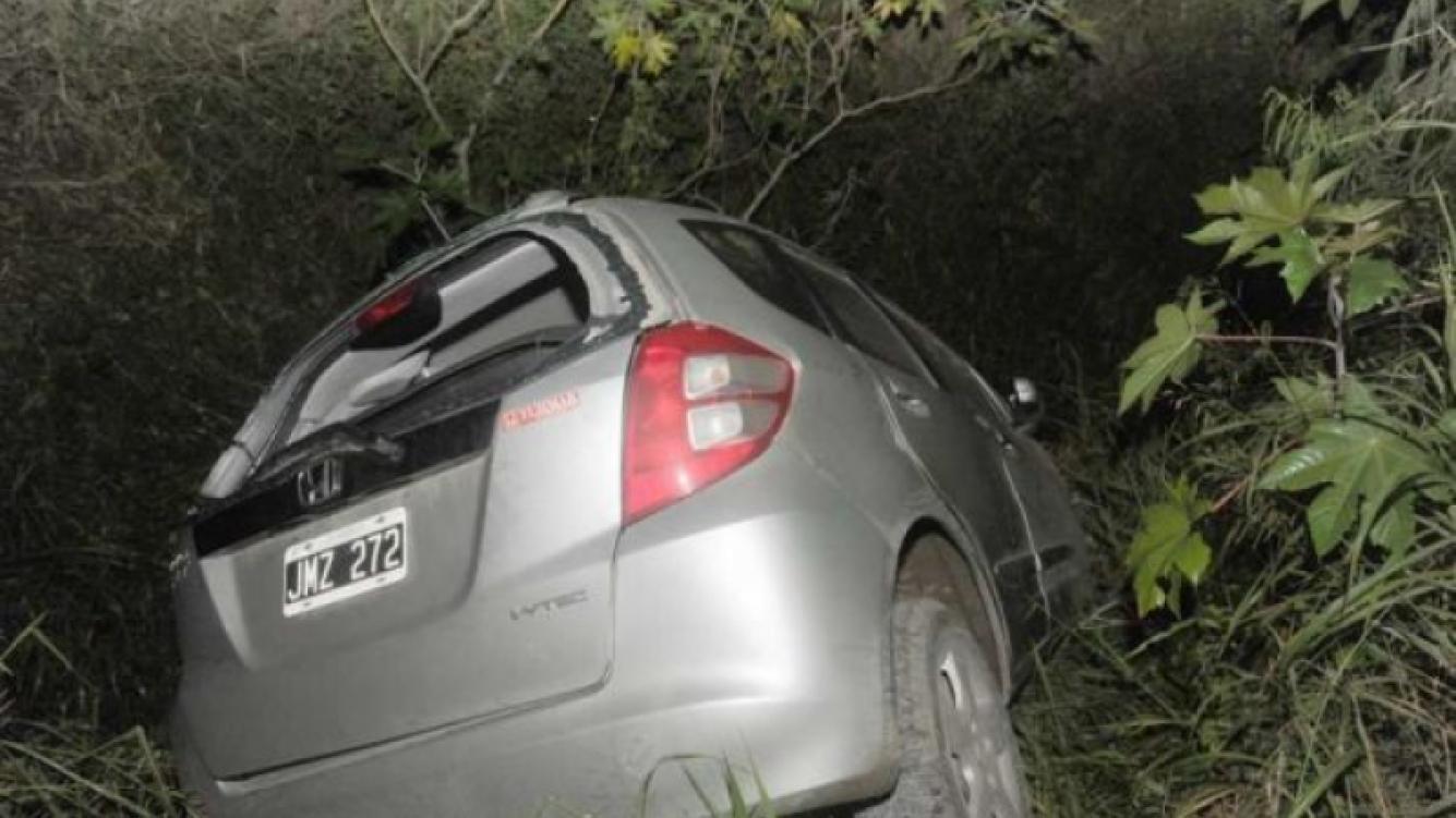 Marianela Mirra: fuerte accidente y susto en Tucumán. (Fotos: La Gaceta de Tucumán)