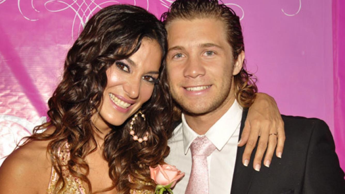 Silvina Escudero y Nico Riera, en tiempos más felices (Foto: Ciudad.com).