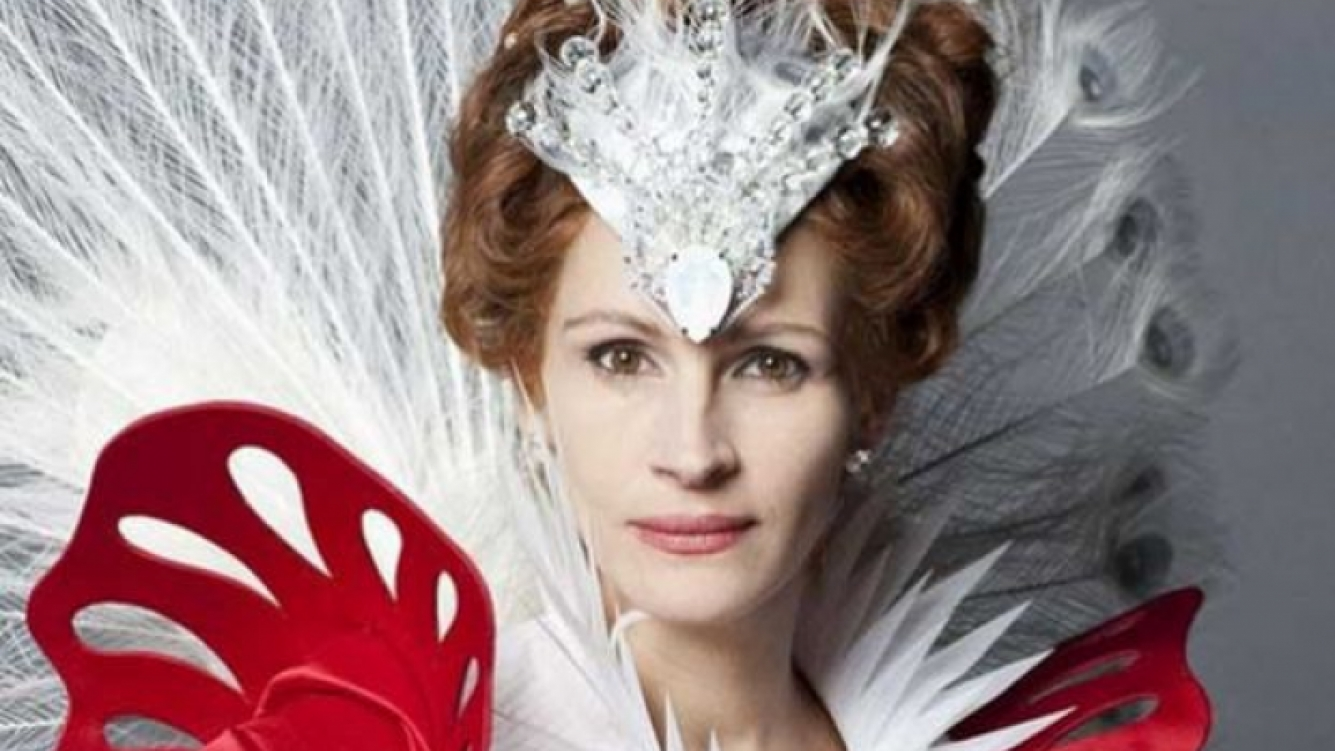 El asqueroso maquillaje de Julia Roberts para su nueva película. (Foto: Web)
